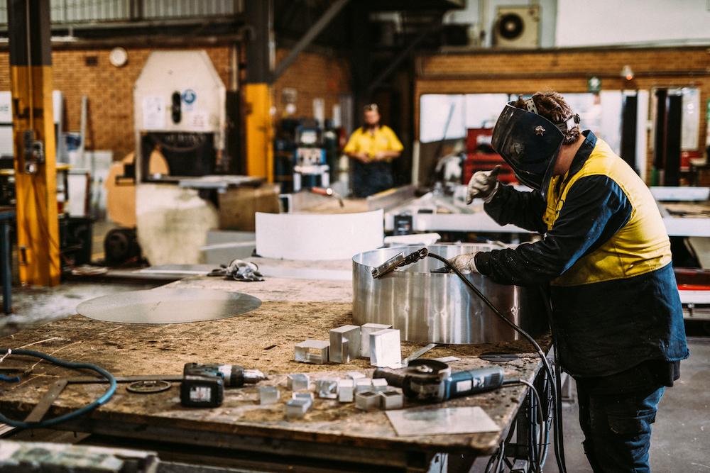 Australian welding industry