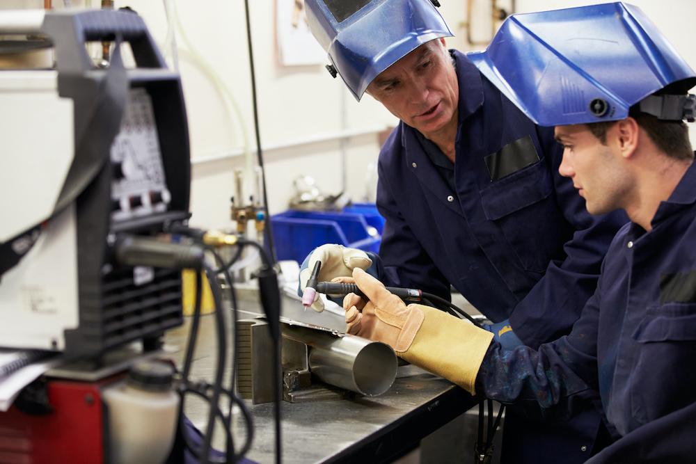 welding apprentices